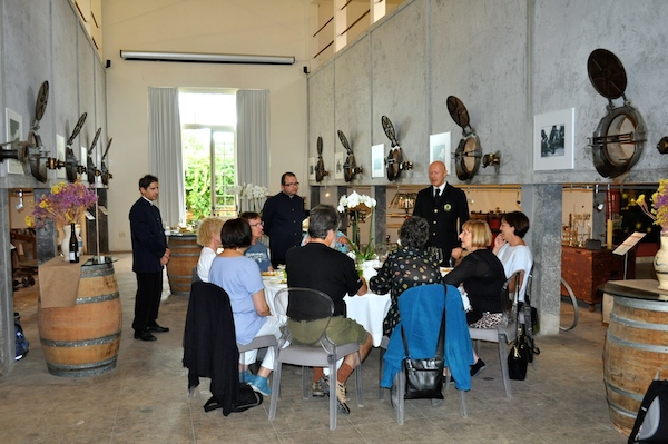 Castello Monaci Group Lunch 600x400