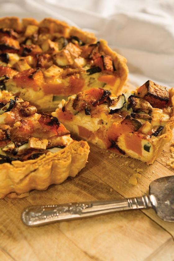 Food for friends cookbook urban provider cooking school for Luxury quiche