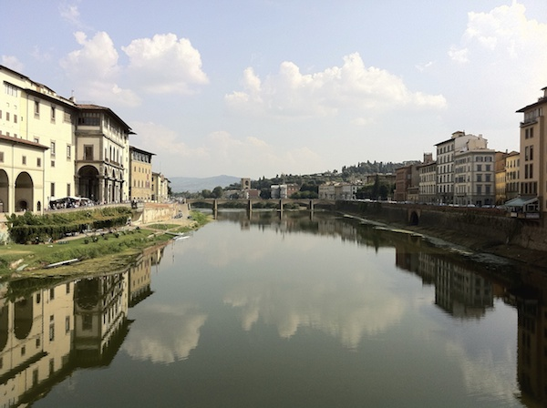 Firenze Arno Reflection 600x400