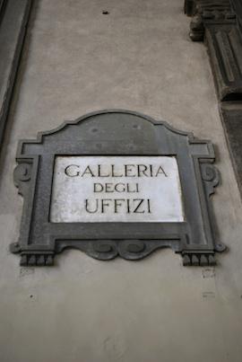 Firenze Uffizi 270x403