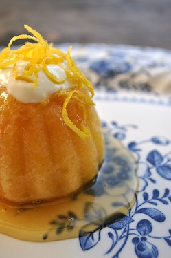Limoncello Steamed Puddings 250x375