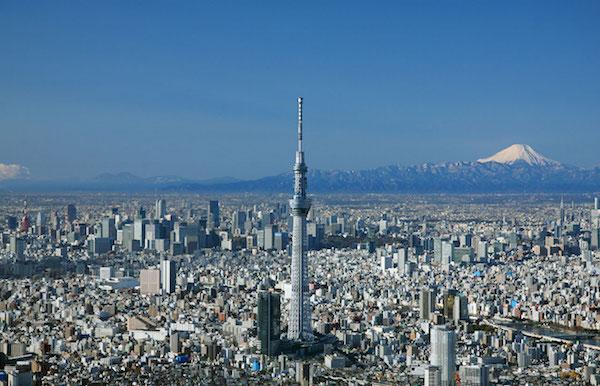 Japan Tokyo Skytree 600x383